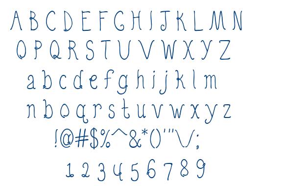 Quirky Nots Regular font