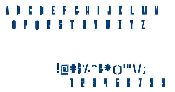 Goh-Solid font