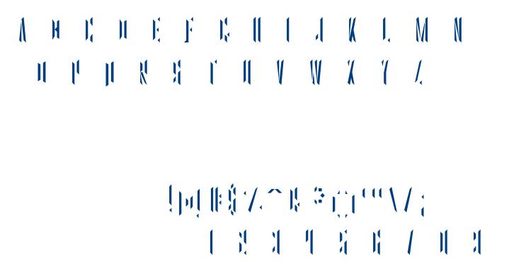 Goh-Two font