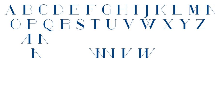 Poste-Solid font
