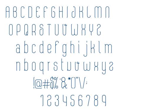boniefs-regular font