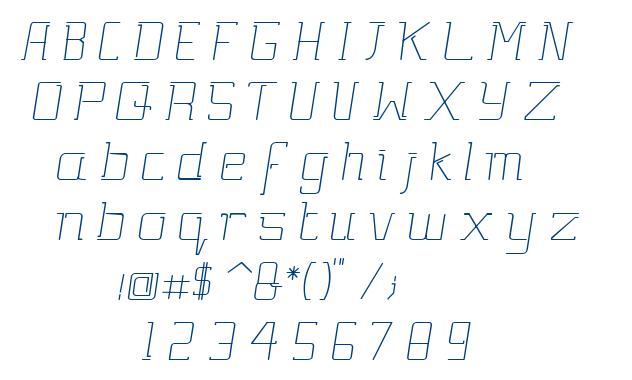 Gutsy Bold Italic font