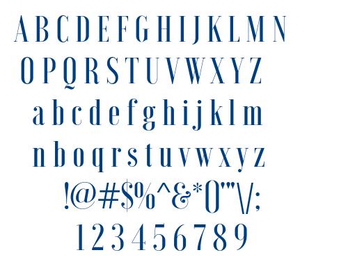 Voga Medium font