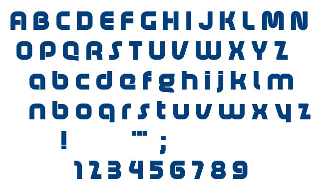Age font