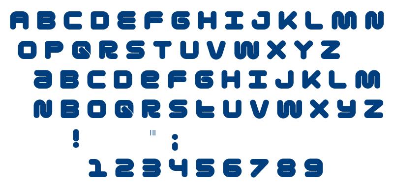 Gota font