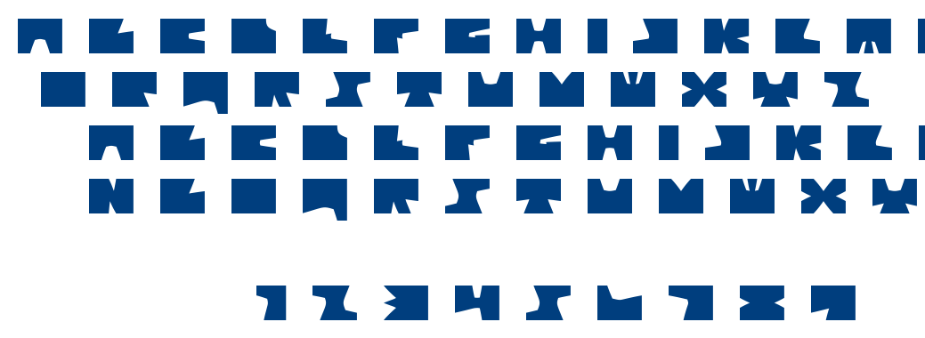 Alt Tiwo Bend font