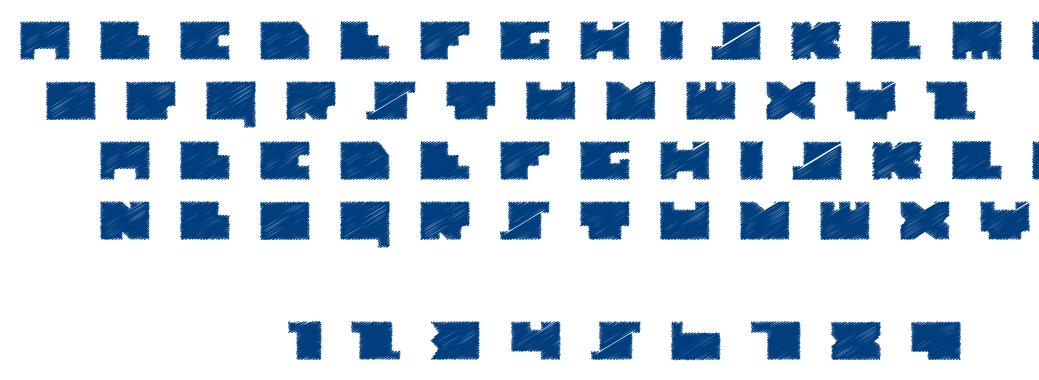 Alt Tiwo Scribble font