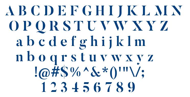 ButlerStencil-Bold font
