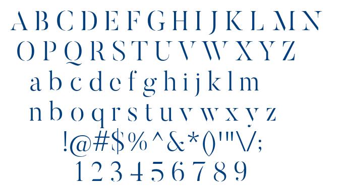 ButlerStencil-Light font