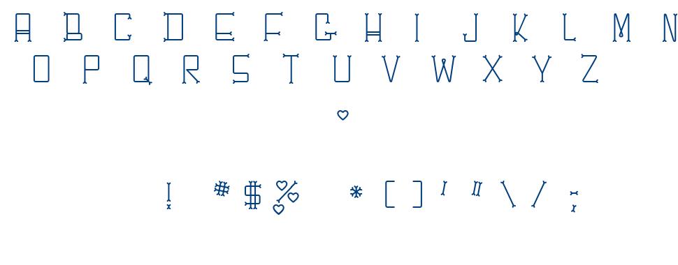 Che\'sBone font