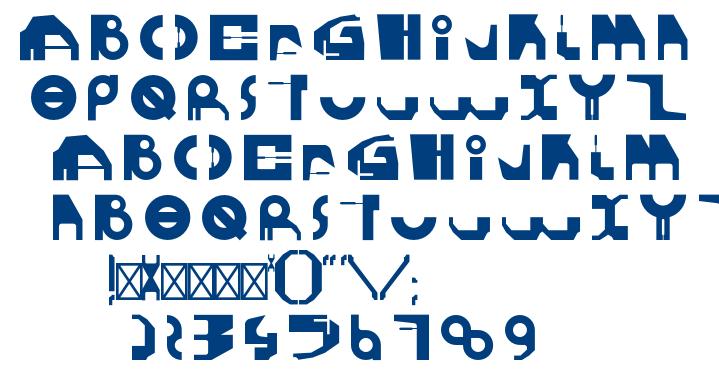 GHEROTYPE REGULAR font