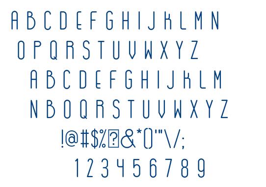 GOGOIA font