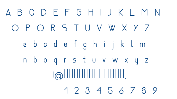 Nemesia light font