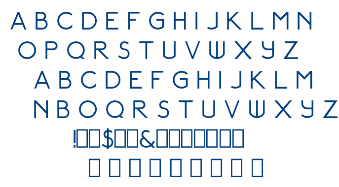 Relancer  Regular font