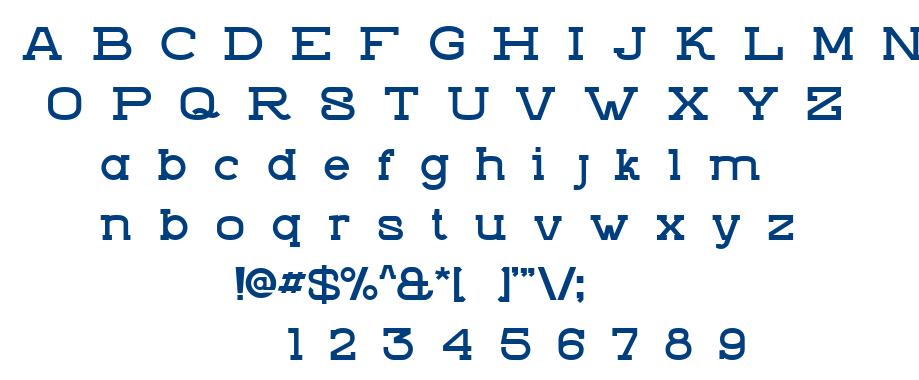 ZVIRO_DEMO1 font