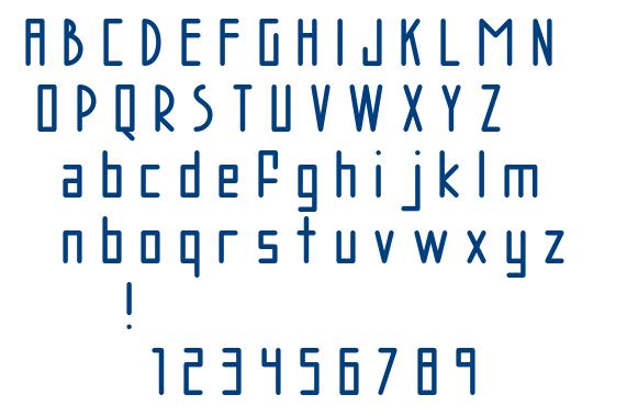 AC Brodie font