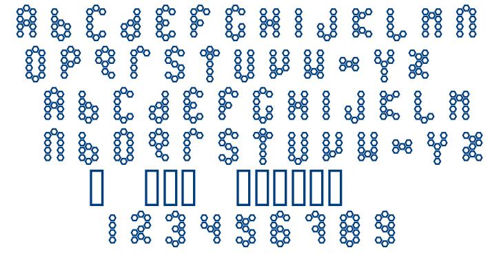 Beetype Outline font