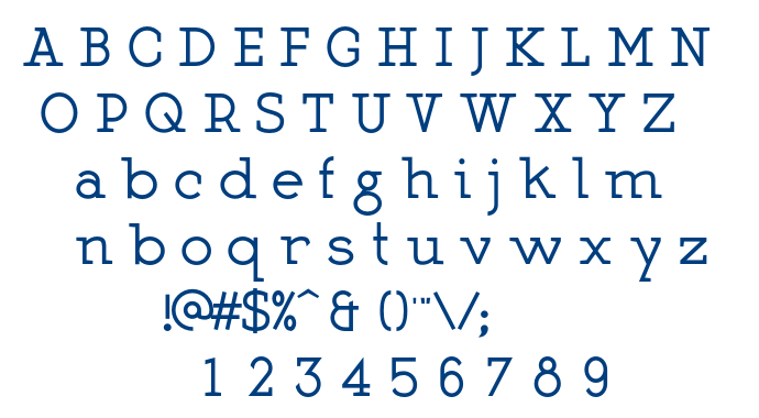 Martell Bold font