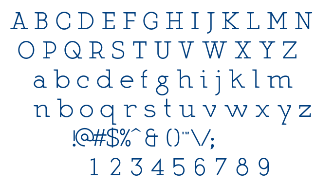 Martell Normal font