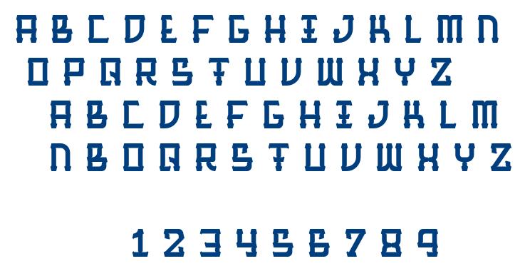 BarqueRegular font