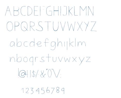 FlowProuRegular font