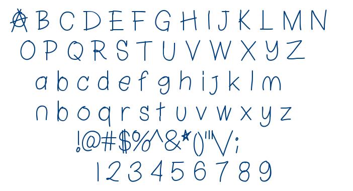 ChapulFont font