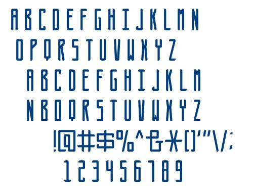 Futures-Regular font