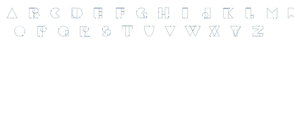tesla-seredich font