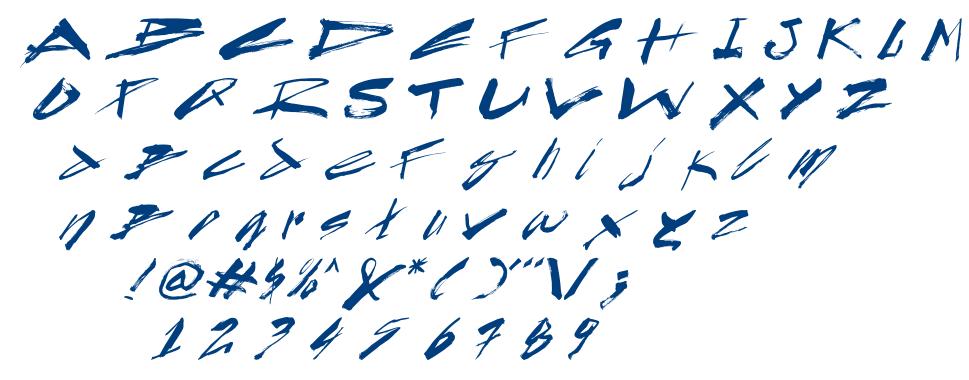 CYN_Byron_it font