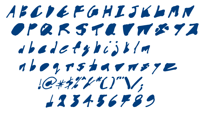 CYN_Goodinside_italic font