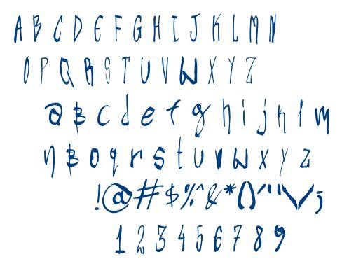 CYN_U font