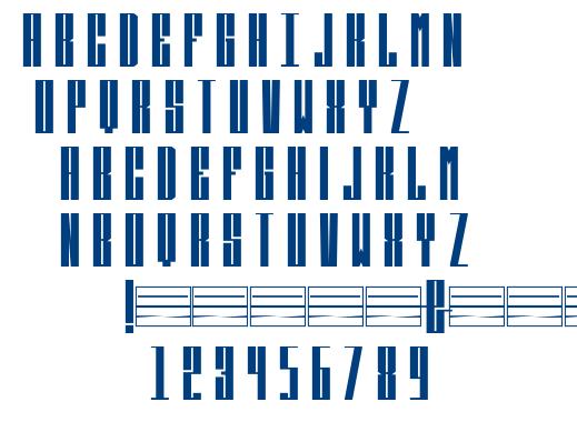 Kicker-Regular font