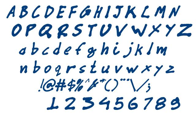 CYN_Pan_italic font
