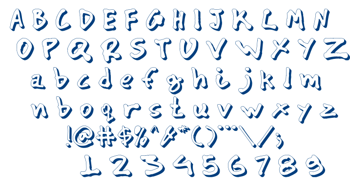 CYN_Pan_shadow font