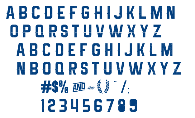 Melma Cracked font