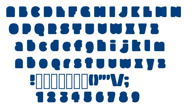 Slukoni Fat font