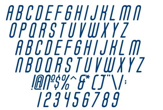 Soda Fountain Regular Oblique font
