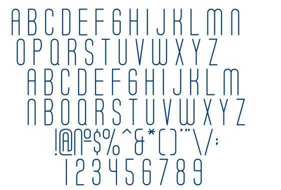 Soda Fountain Thin font