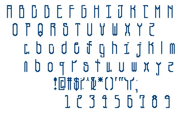 Canne font