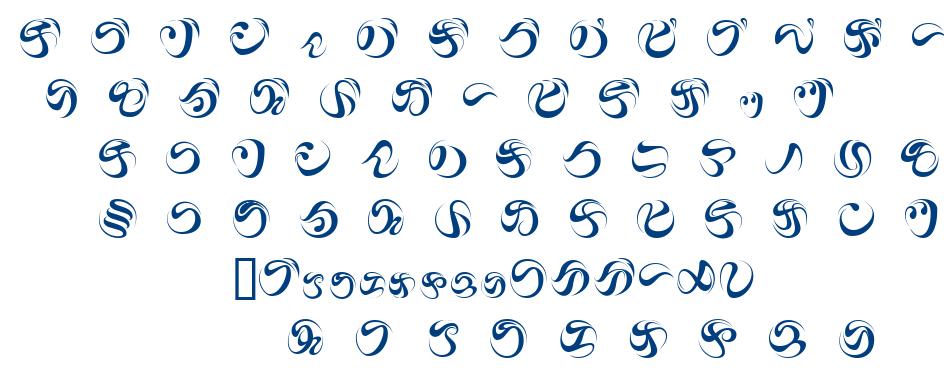 iAiKKF font