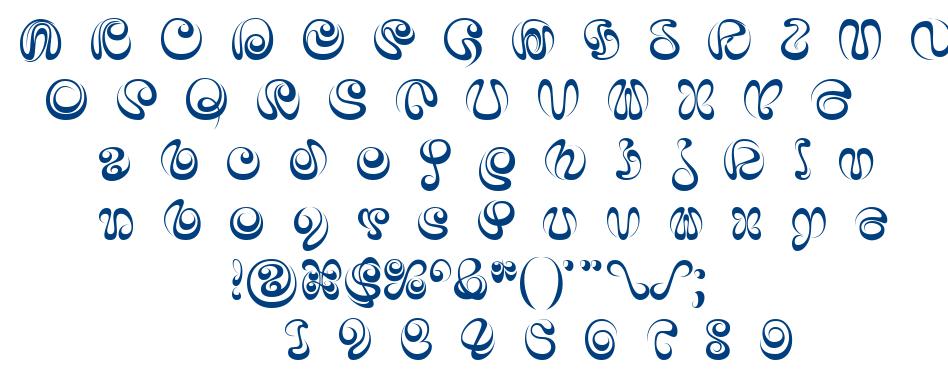 iAi Alphabet font
