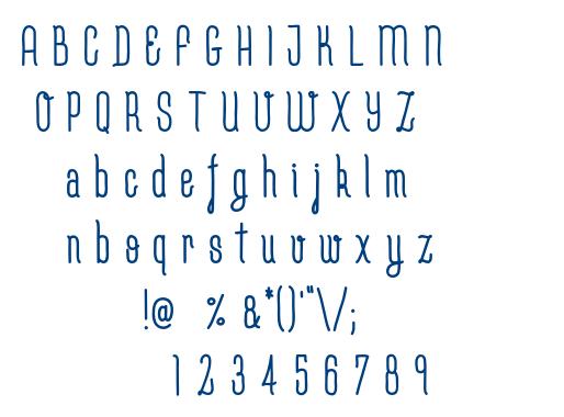 Cutepunk-Bold font
