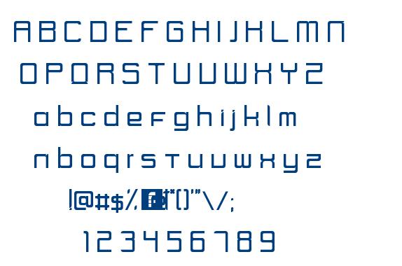 UNIK2 Regular font