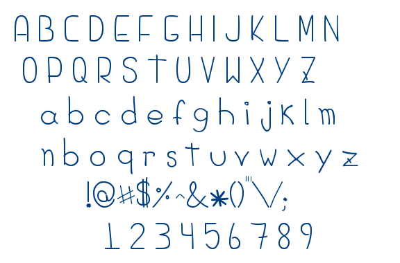 Diego Hands font
