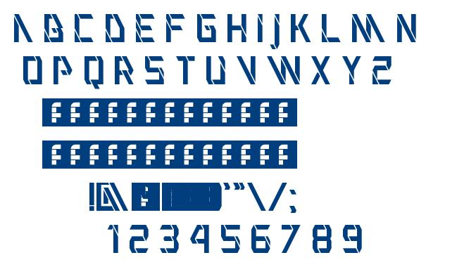 VHIA Regular font