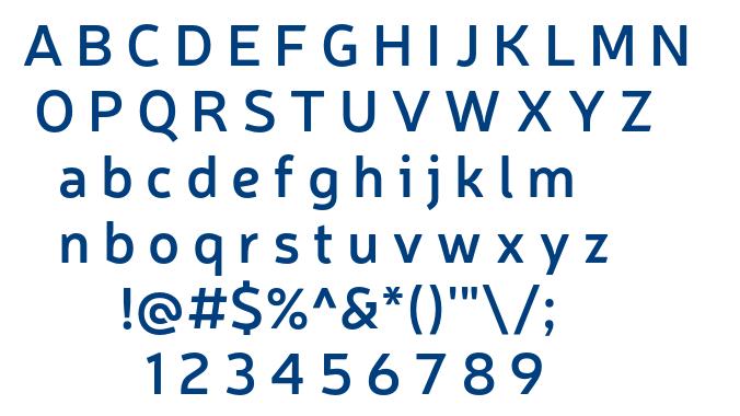 Neris SemiBold font