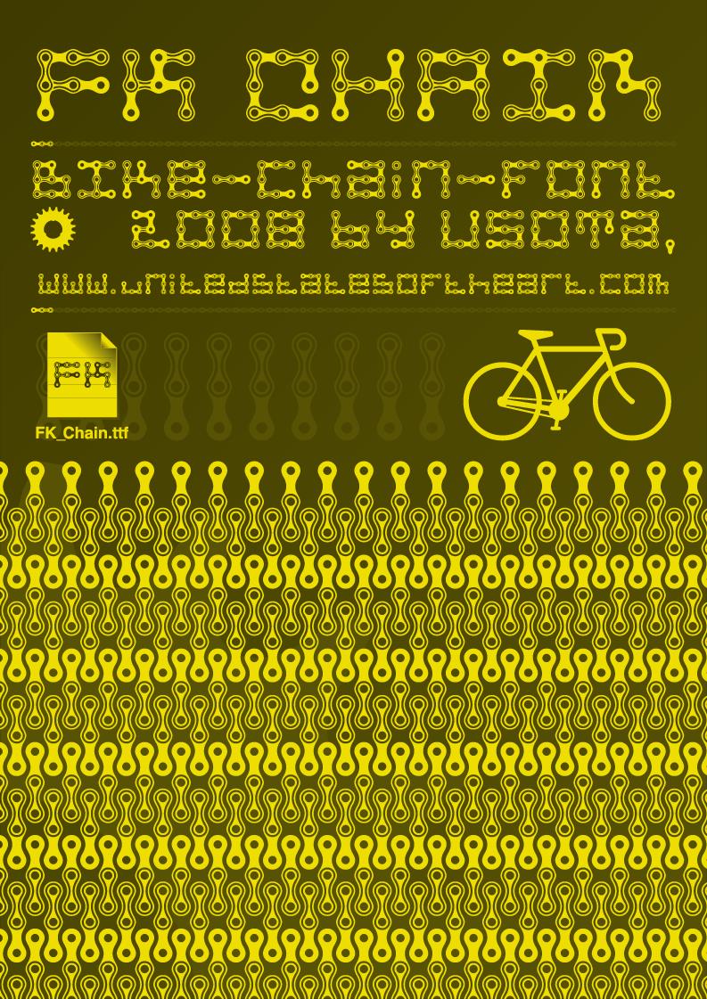 FK Chain font