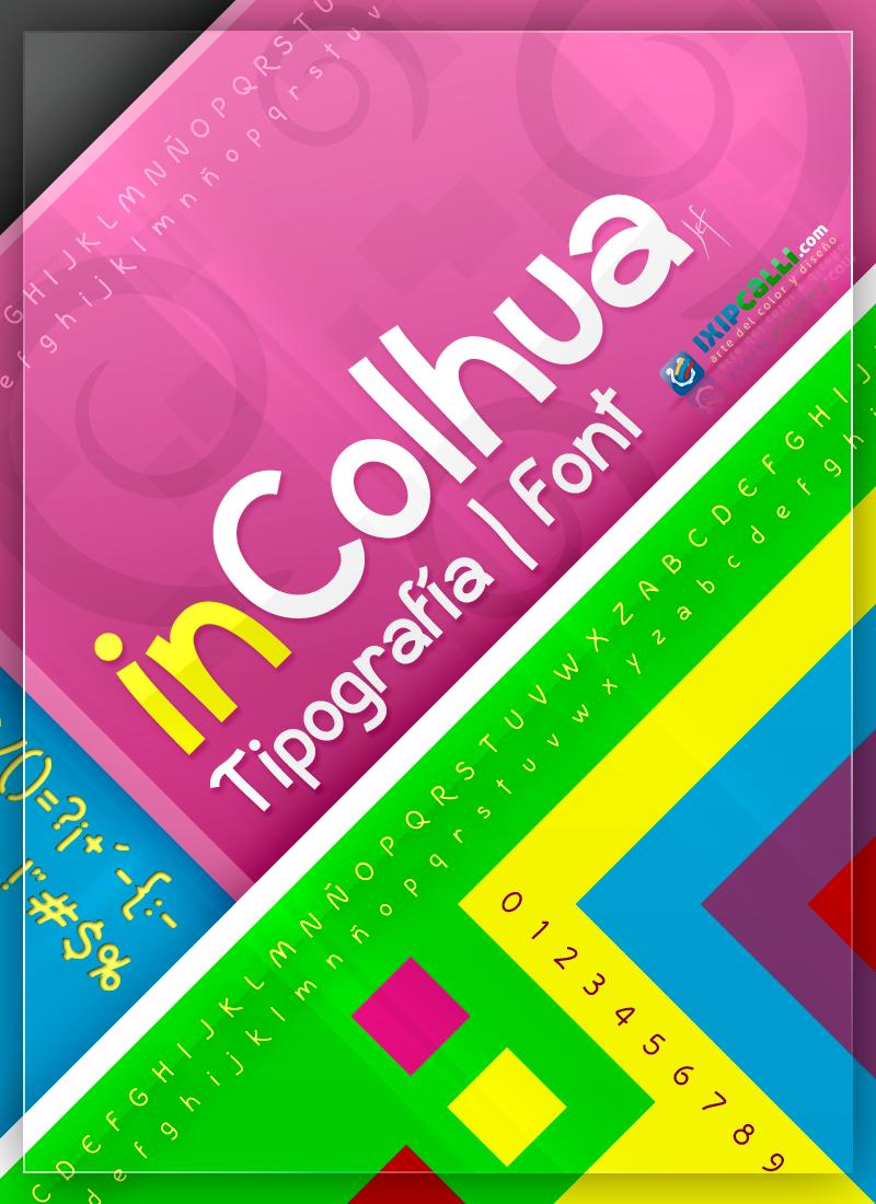 InColhua font