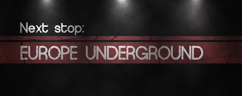 Europe Underground Worn font