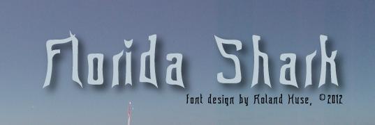 Florida Shark font